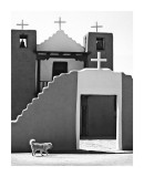 The Pueblo church, Taos