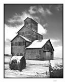 Grain elevator, Lincolnville, KS