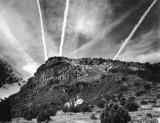 Contrails or aliens,  Sedona, AZ