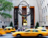 Statue of Atlas on 5th Avenue