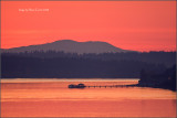 Crimson Sunset from Steilacoom