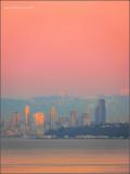 Crimson Seattle Sunset