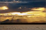 Sunset over the Cascades