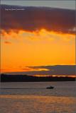 Golden Cascades Sunset