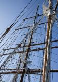 Rigging the sails