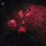Cat's Paw Nebula (NGC 6334)