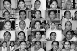 India Women's Portraits in black and white