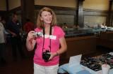 Liz Allen ready to document the meet