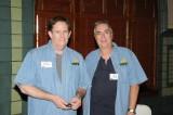 Steven Beales & Bob Freitas before their Clinic