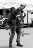 pompier au Stade Olympique de Montréal