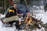 Camping d`hiver