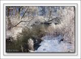 A Frosty Flow As Nature Dawns It's Frozen Cloak