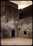 Courtyard at the Masseria