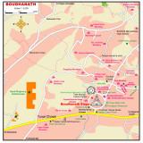 Boudhanath map