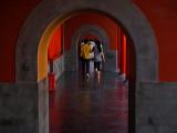 Beijing, China: Sept 2007 :Forbidden City