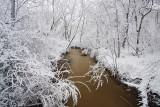 Snow and flood