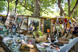 Antiques stall