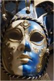 Blue Jester Mask