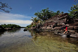 Nan Madol is surrounding by canals that rise and fall with the tide. IMG_4501.jpg