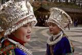 Nanhua Village in Guizhou Province: Traditional silver work