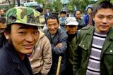 Day workers.  Jishou City China. .jpg