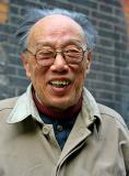 Elder in a back alley, Hongkou District, Huoshan neighborhood.