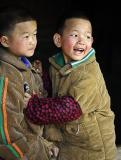 Hmong Spring Festival celebration in Panzhai, January 2006, Guizhou Province, China