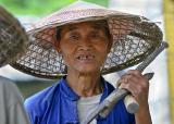 Road worker #1.