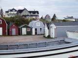 Bait Houses  At Parker's Cove ~ Nova Scotia