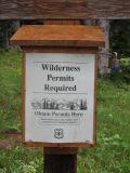 Wilderness permits