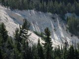 Sandstone slide area
