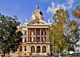 The Coryell County Court House, Gatesville, Texas, Circa 1897