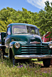 This looks to be a 1951 Chevrolet  B 3100   P/U