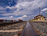 Riding the rails in Clovis, NM