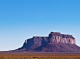 This large Mesa is called Sentinel Mesa and the small rock to the left is called Big Indian