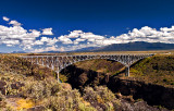 The Rio Grande Gorge Bridge, NM
