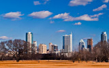 The Austin Skyline from East of the City