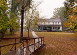 A 19th century farmhouse in French Camp, Mississippi