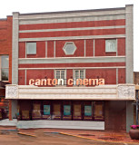 Canton Ms. Theater now closed. Located on the Town Square