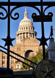 The State Capital Dome, Austin, TX, Circa 1888