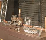A cigar store display