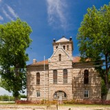 The Llano County Jail. Now closed and on the National Historic Register