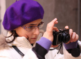 Venice: taking photo with Lumix LX3