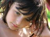 portrait on the beach