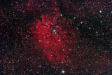 NGC6820/NGC6823 in Vulpecula