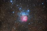 M20 - The Trifid Nebula in Sagittarius