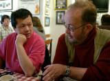 Charlie Chan and Tom Abrahamsson (photo Howard Cummer)