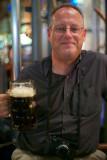 Nathan Wajsman drinking (photo Craig Semetko)