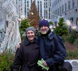 Alastair and Helen Firkin in NY (photo by     ?    )