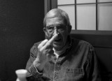 Ted Grant, signals the sushi is fine (photo Henning Wulff)